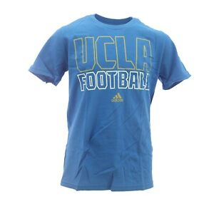 UCLA Bruins Football Official NCAA Adidas Kids Youth Size T-Shirt New with Tags