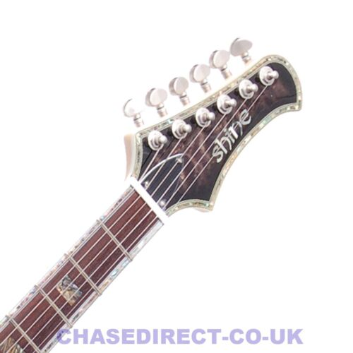 RRP £549 Buy Now £149 Shine SIL406 Electric Guitar Maple Top Select EMG Pickups