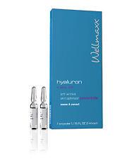 Wellmaxx Hyaluron Gesichtspflege Ampullen + Meeresseide 7 X 2 ml, 5500138