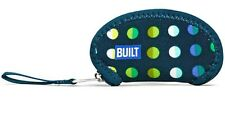 Built NY Wrap It Ear Bud Case Emerald Dot Earphone Pouch Headphone Neoprene Bag