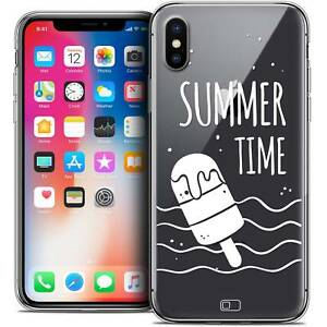 Carcasa-Cristal-Gel-para-iPhone-X-10-Extra-Fina-Flexible-Summer-Summer-Time