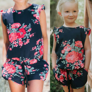 94ae73d6d8a Mother And Daughter Matching Romper Clothes Mom Girl Jumpsuit Family ...