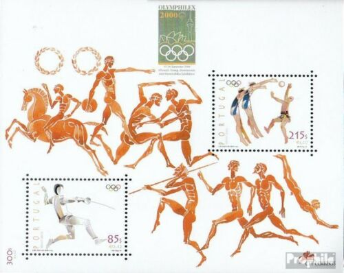 Portugal block164 complete.issue. unmounted mint never hinged 2000 Olympics
