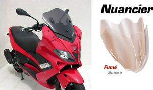Pare Brise Bulle ERMAX SPORT 45cm Gilera Nexus 125 250 300 500 04/16 Fumé Clair