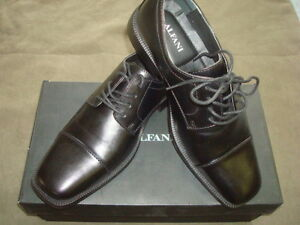 ALFANI-BLACK-LACE-UP-DRESS-SHOES-SIZE-8