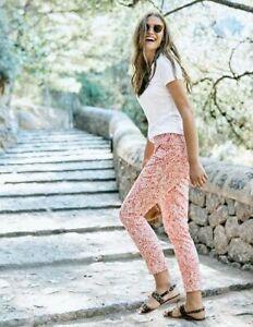 Boden-Hose-Al-Fresco-7-8-Pants-Damenhose-Sommer-Muster-NEU-UK-14-EU-40