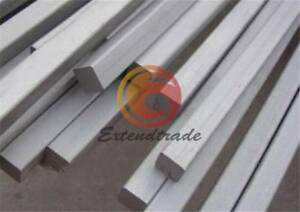 Metal square Rod Titanium Ti Grade 2 Gr.2 GR2 6 x 6 x 420mm