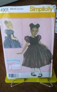 Daisy-Kingdom-Sweet-Memories-4901-girls-party-dress-sash-puff-sleeve-sz-7-14-NEW