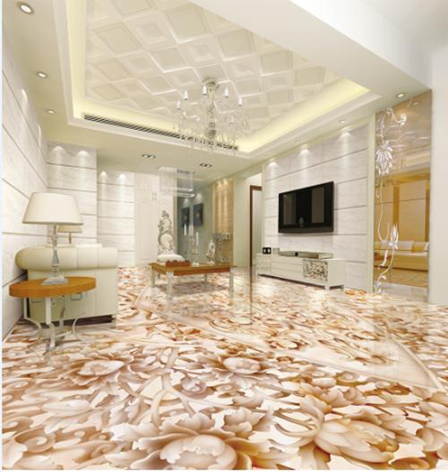 3D Texture flower 525 Floor WallPaper Murals Wall Print Decal 5D AJ WALLPAPER