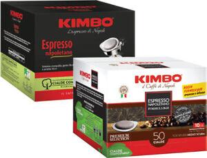200 CIALDE KIMBO filtro carta ESE 44 MM MISCELA ESPRESSO NAPOLETANO OFFERTA