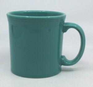 Fiestaware HLC Homer Laughlin Ceramic Teal Turquoise Coffee Tea Mug Cup USA