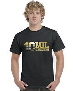10-Mil-Morgz-Team-Morgz-Kids-T-Shirt-Gold-Print-Ages-3-13-Tee-Top