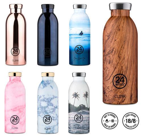 24 volviendo termo clima Special nuevo//en el embalaje original de acero inoxidable Thermo botella