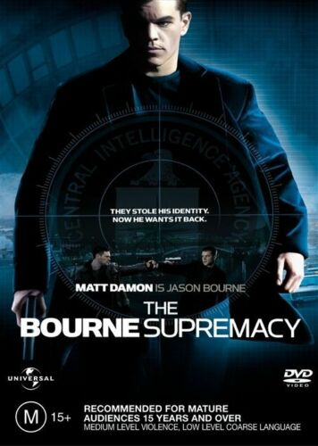 1 of 1 - The Bourne Supremacy (DVD, 2004)