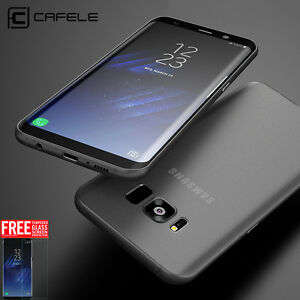 new concept 4a7c8 18dfb Details about For Samsung Galaxy Note 9 S8 S9+ Plus Original CAFELE Thin  Soft Cover TPU Case