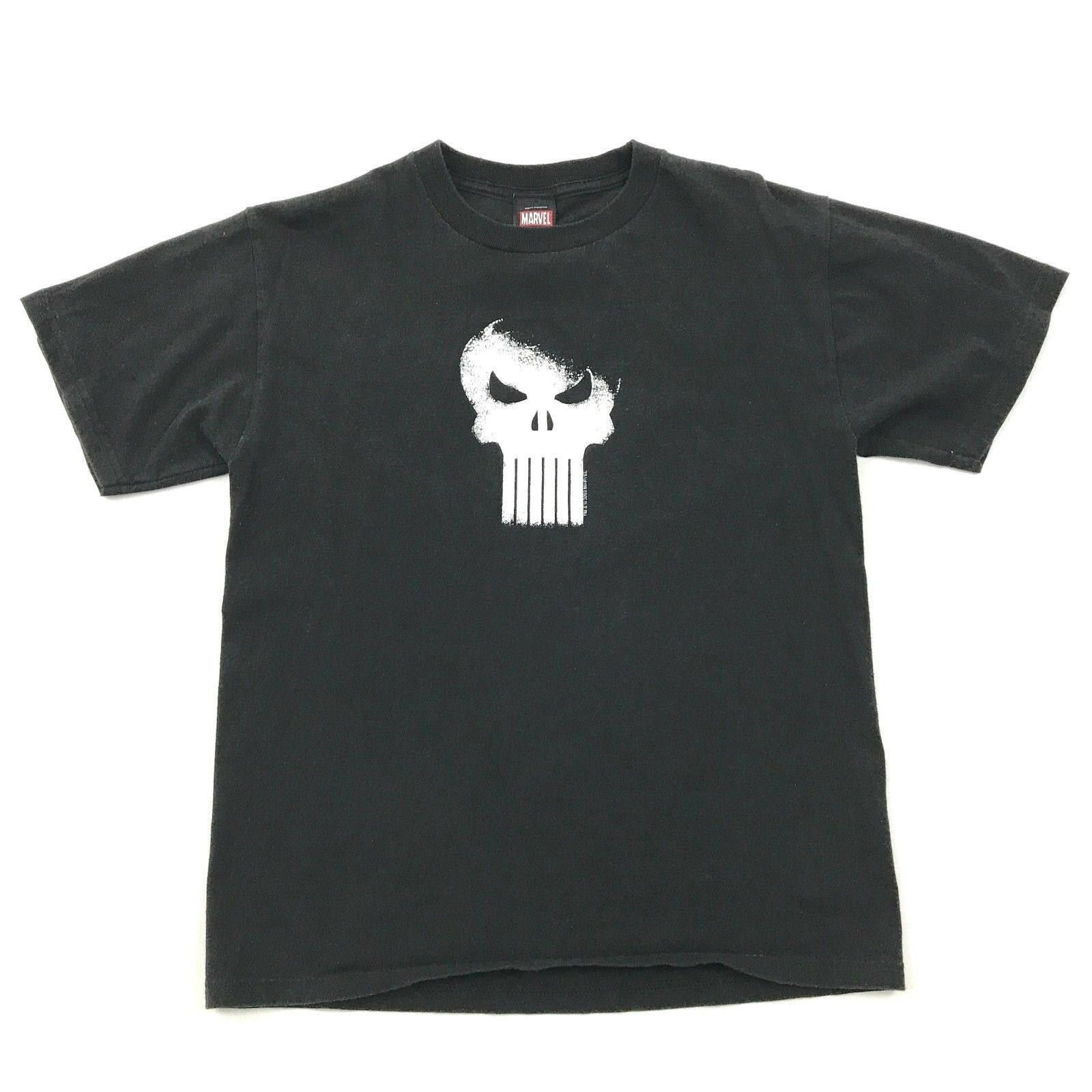 THE PUNISHER Promo Tee Size Medium MARVEL Shirt Short Sleeve RARE 2003 Promotion