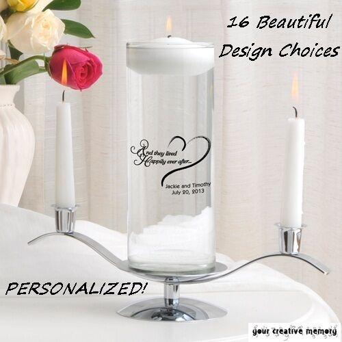 Flottant Unity Candle ou set-Free Personnalisation & LIVRAISON GRATUITE  16 Designs