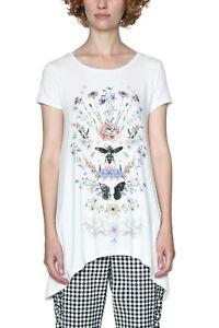 xxl Butterfly Xs 18 8 Uk Desigual Rrp Dragonfly Tshirt White Apostolos Top 44 xn188qXPO