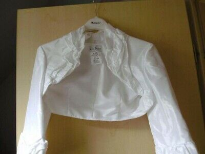 Bolero Von Elizabeth, Brautbolero Weiß