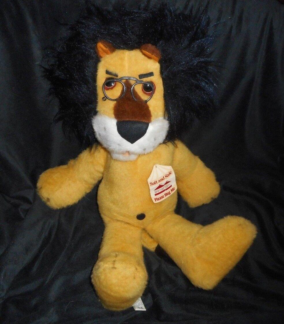 26  VINTAGE 1971 HUBERT THE LION HARRIS TRUST BANK STUFFED ANIMAL FAIR PLUSH TOY