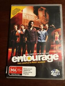 ENTOURAGE-Complete-First-Season-Good-Condition-2-DVDs-R4-PAL