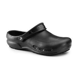 67e62cc03 Crocs Men s and Women s Bistro Clog Slip on Resistant Work Shoe Chef ...