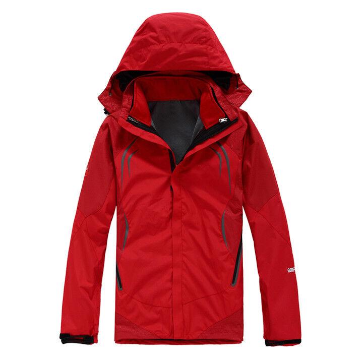 D56 Sie rot Ski Snow Snowboard Winter Waterproof Breathable Jacket S M L XL XXL