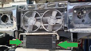 Details about 92 - 99 ROLLS ROYCE SILVER SPUR OIL ENGINE COOLER check vin  number UT14063PA