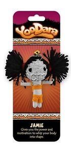 Dolls Dolls & Bears Yoodara Good Luck Charm ~ Jamie ~power Tribe New Collectible Keychain