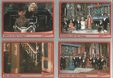 Thunderbirds Premium TV Series: Set of 4 Ultra-Rare Cards #R1-R4