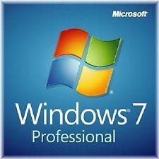 Windows 7 Professional 64 Bit Deut VOLLVERSION Pro Key Lizenz COA + DVD