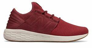 New-Balance-Male-Men-039-s-Fresh-Foam-Cruz-V2-Nubuck-Comfort-Adult-Red-With-Red