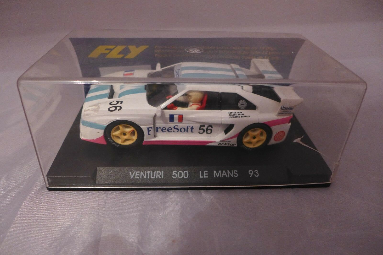 Venturi 500 Le Mans 93 white Fly slot car