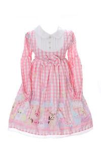 JSK-15-1-rosa-Karo-Baby-Doll-Rabbit-Bunny-Hase-Pastel-Goth-Lolita-Kleid-Cosplay