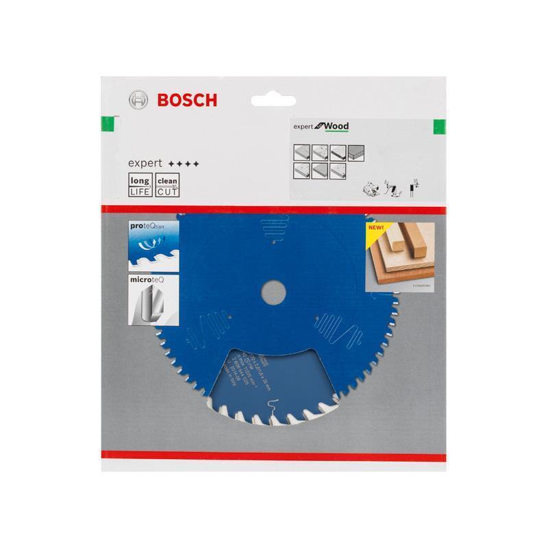 Bosch Hm-Sägeblatt 180x2,6x20 Z48 2608644031 Expert for Wood, für Handkreissägen
