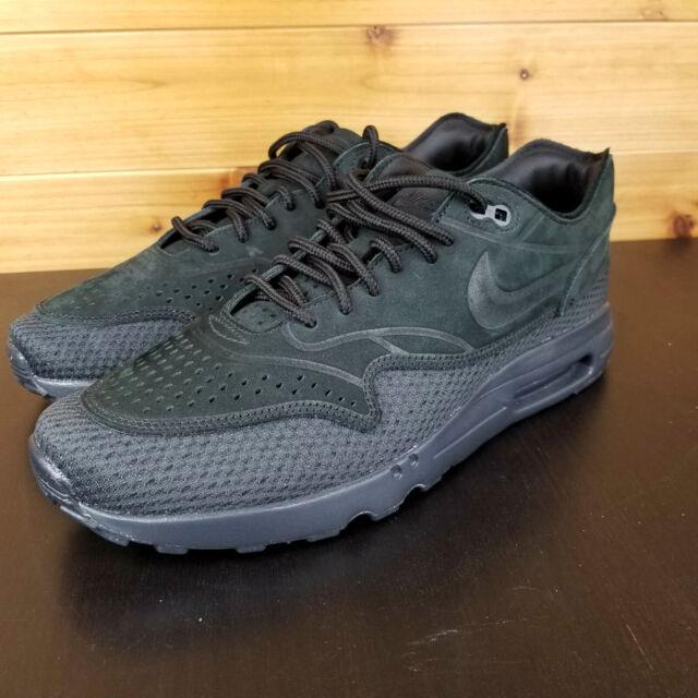 Nike Air Max 1 Ultra 2.0 Premium BR Men's Shoes AO2449 002 New Triple Black