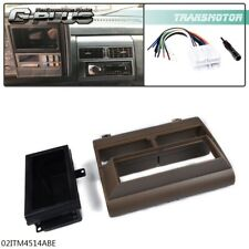 Fit For Truck Single Din Stereo Radio Install Dash Kit Wire Harness Adapter