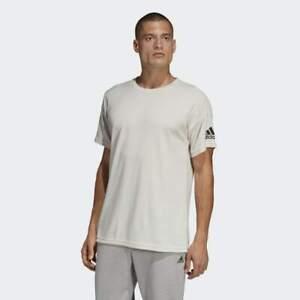 BRAND-NEW-50-adidas-Men-039-s-ID-STADIUM-TEE-DU1140-RAW-WHITE