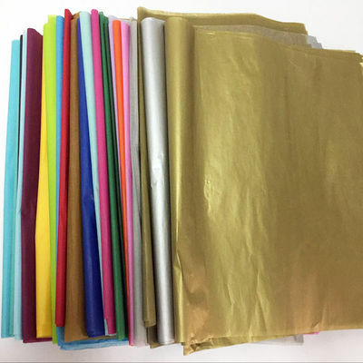 5 SHEETS ACID FREE TISSUE PAPER VARIOUS COLOUR 50CM*70CM