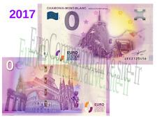 74 - Billet Touristique Zéro Euro France 2017 Chamonix !