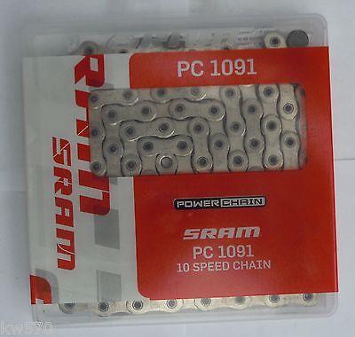 SRAM PC-1051 PowerChain II 10 Vitesses MTB Chaîne PC1051-Mountain Bike Cycle