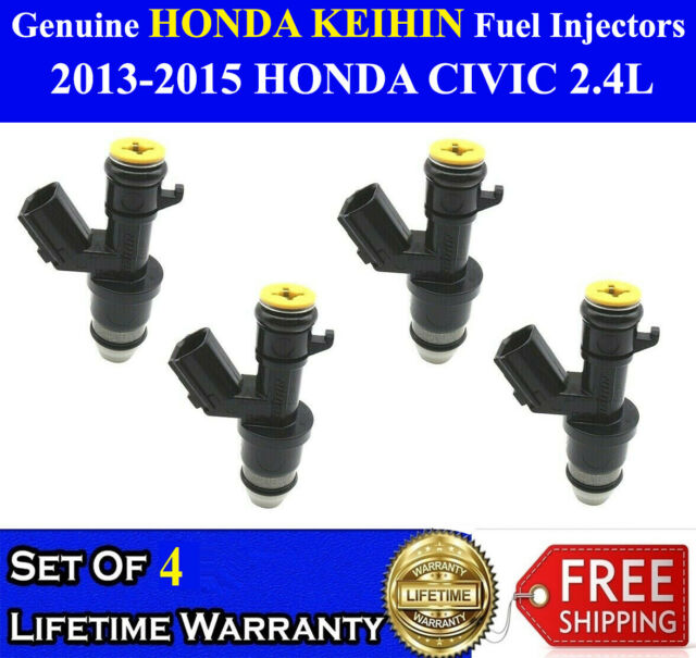For 2013-2015 Acura ILX Fuel Injector Genuine 61521JV 2014