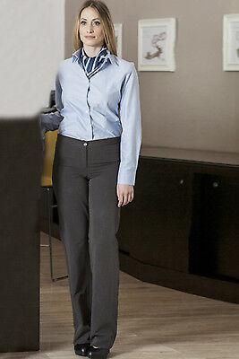 Pantaloni Donna Lavoro Eleganti Classico Sala Bar Ufficio Business Ristorante