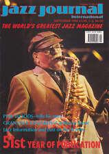 JAZZ JOURNAL MAGAZINE 1998 SEP PHIL WOODS, GRANVILLE EDWARDS, TED DUNBAR