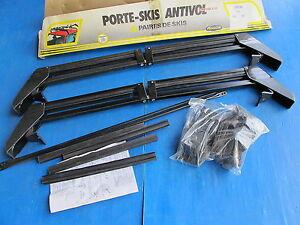 Porte-Ski-Mecanoto-avec-antivol-et-cles-pour-Fiat-Uno-3-portes
