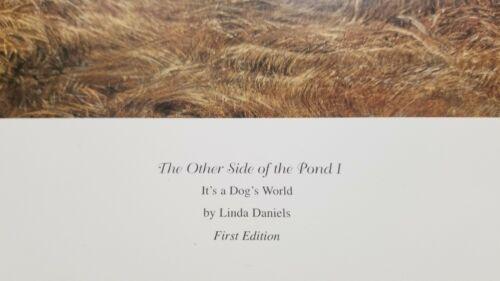 It/'s a Dog/'s world  By Linda Daniels Golden retriever