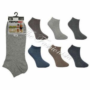 48-Paires-De-Homme-Trainer-chaussettes-assorties-motifs-Taille-6-11-En-Gros-Job-Lot