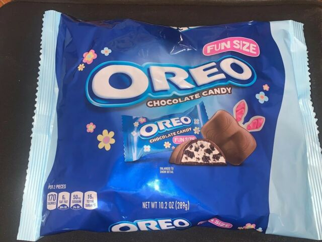 OREO Milk Chocolate Candy Bar,10.2 oz, DISCONTINUED, HARD TO FIND, Fun Sized