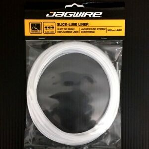 Jagwire Slick-Lube Liner 4 mm x 2 M Transparent