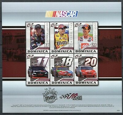 Briefmarken Warnen Dominica 2010 Nascar Automotorsport Rennsport 4037-4042 ** Mnh Supplement Die Vitalenergie Und NäHren Yin